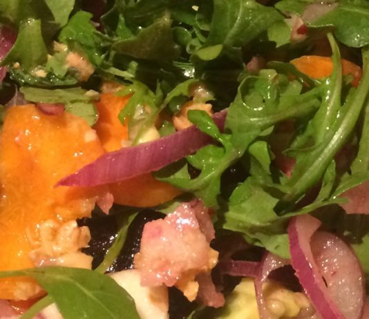 Rejuvenating nutrition salad